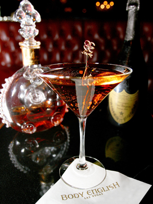 Body English's Aristocrat Martini