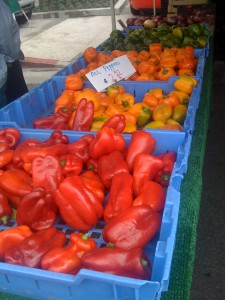 Peppers at the Famer's Market
