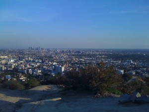City Views from Runyon Canyon