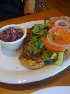 D's YUMMY Carne Asada Sandwich