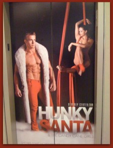 Hunky Santa in Hollywood